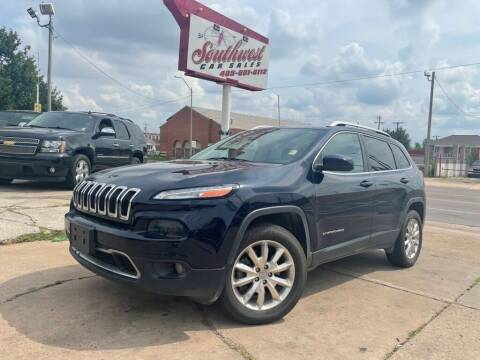 2016 Jeep Cherokee for sale at Southwest Car Sales in Oklahoma City OK