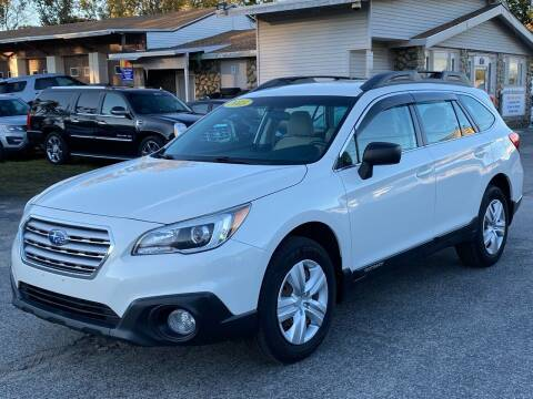 2015 Subaru Outback for sale at MetroWest Auto Sales in Worcester MA
