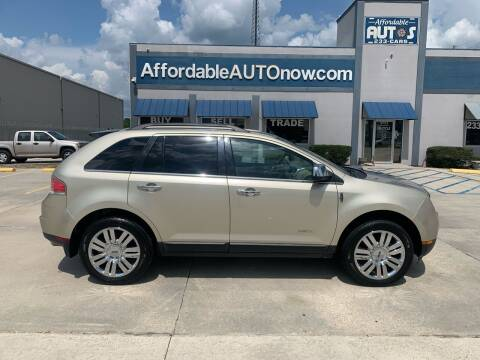 2010 Lincoln MKX for sale at Affordable Autos in Houma LA