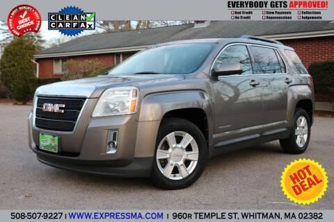 2012 GMC Terrain for sale at Auto Sales Express in Whitman MA