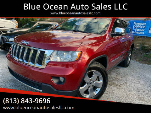 2013 Jeep Grand Cherokee for sale at Blue Ocean Auto Sales LLC in Tampa FL