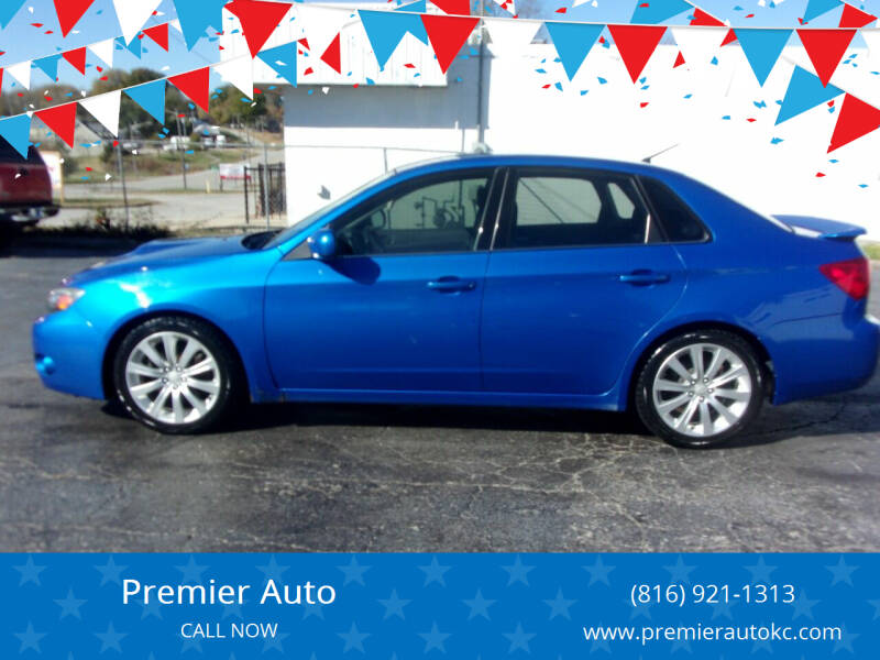 2008 Subaru Impreza for sale at Premier Auto in Independence MO