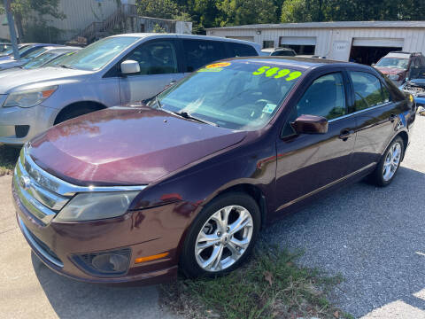 2012 Ford Fusion for sale at Noel Motors LLC in Griffin GA