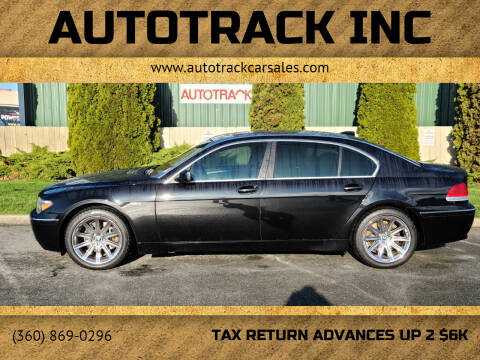 2004 BMW 7 Series for sale at AUTOTRACK INC in Mount Vernon WA