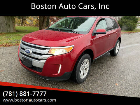 2013 Ford Edge for sale at Boston Auto Cars in Dedham MA