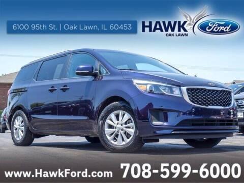 2018 Kia Sedona for sale at Hawk Ford of Oak Lawn in Oak Lawn IL