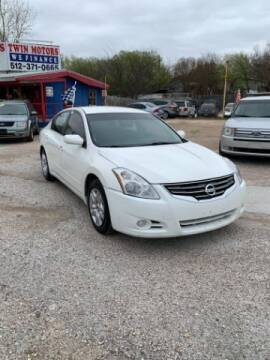 2012 Nissan Altima for sale at Twin Motors in Austin TX