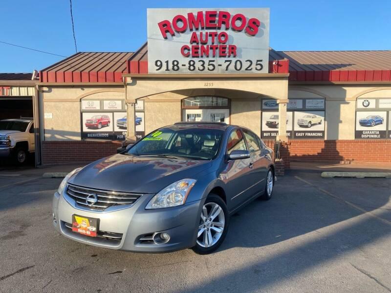 2010 Nissan Altima for sale at Romeros Auto Center in Tulsa OK