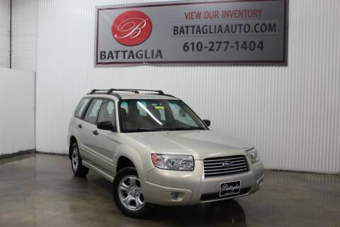 2006 Subaru Forester for sale at Battaglia Auto Sales in Plymouth Meeting PA