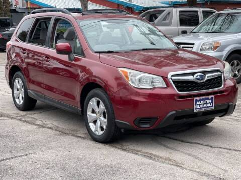 2015 Subaru Forester for sale at AWESOME CARS LLC in Austin TX
