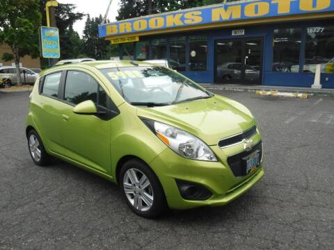 2013 Chevrolet Spark for sale at Brooks Motor Company, Inc in Milwaukie OR
