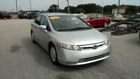 2008 Honda Civic for sale at Kelly & Kelly Supermarket of Cars in Fayetteville NC