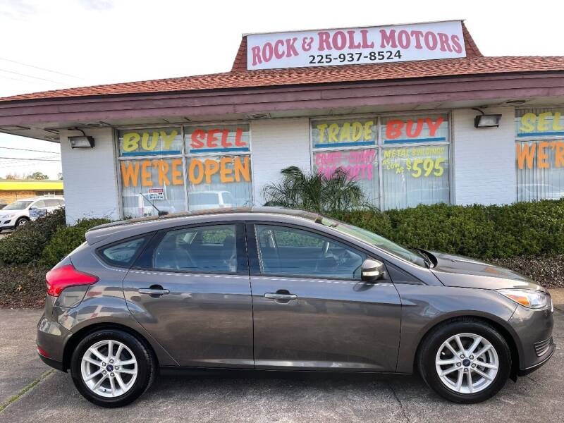 2015 Ford Focus for sale at Rock & Roll Motors in Baton Rouge LA