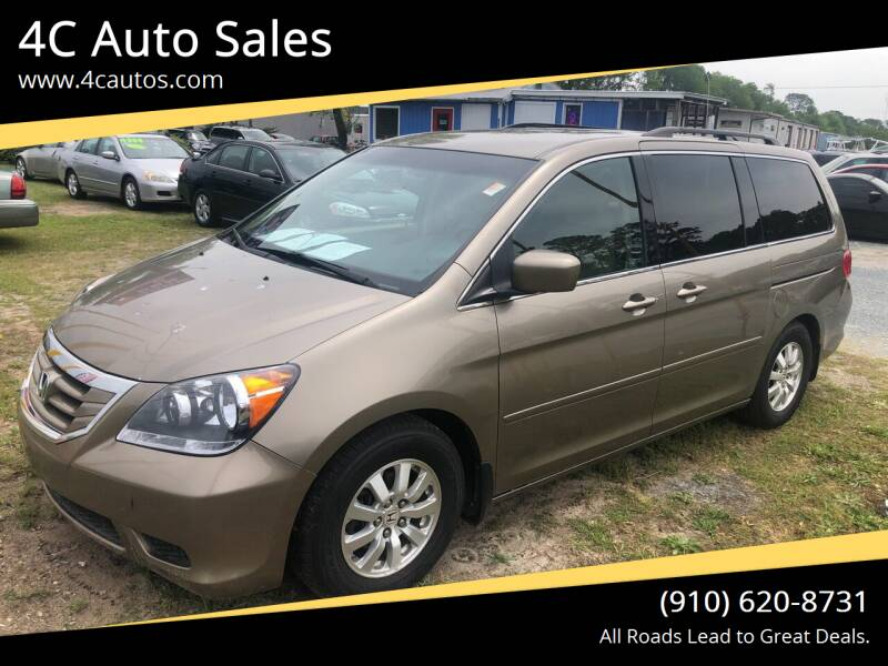 2010 Honda Odyssey for sale at 4C Auto Sales in Wilmington NC