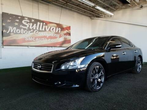 2014 Nissan Maxima for sale at SULLIVAN MOTOR COMPANY INC. in Mesa AZ