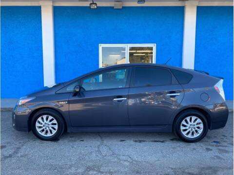 2012 Toyota Prius Plug-in Hybrid for sale at Khodas Cars in Gilroy CA