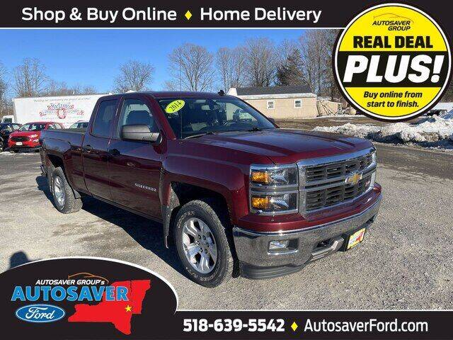 2014 Chevrolet Silverado 1500 for sale at Autosaver Ford in Comstock NY