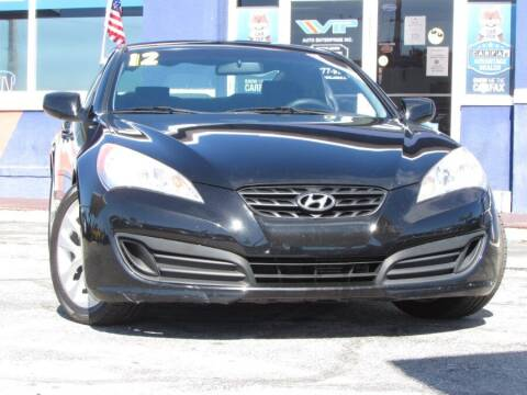 2012 Hyundai Genesis Coupe for sale at VIP AUTO ENTERPRISE INC. in Orlando FL