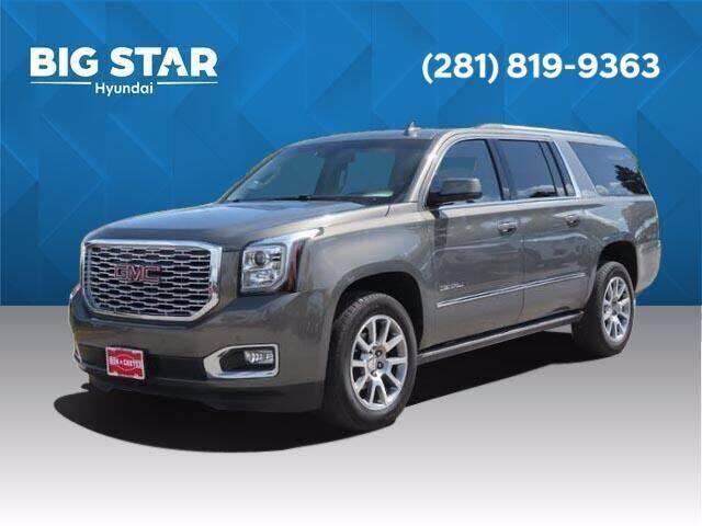 2018 GMC Yukon XL for sale at BIG STAR HYUNDAI in Houston TX