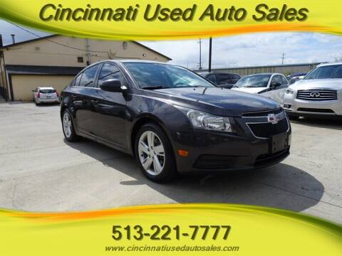 2014 Chevrolet Cruze for sale at Cincinnati Used Auto Sales in Cincinnati OH