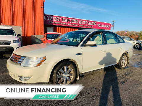 2008 Ford Taurus for sale at LUXURY IMPORTS AUTO SALES INC in North Branch MN