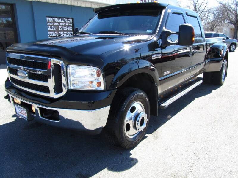 2005 Ford F-350 Super Duty for sale at Trimax Auto Group in Norfolk VA
