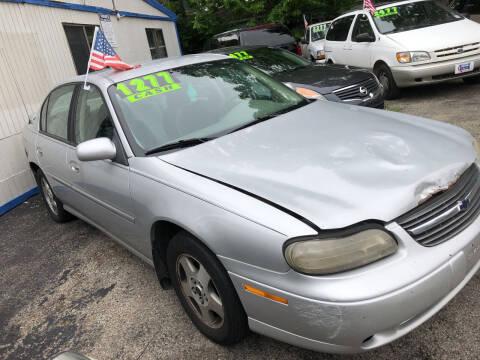 2002 Chevrolet Malibu for sale at Klein on Vine in Cincinnati OH