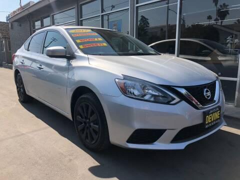 2017 Nissan Sentra for sale at Devine Auto Sales in Modesto CA