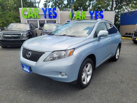 2012 Lexus RX 350 for sale at Car Yes Auto Sales in Baltimore MD