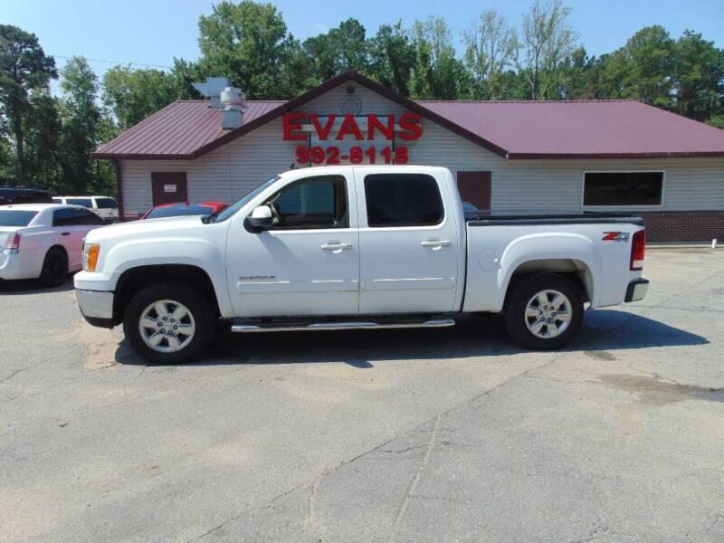 2013 GMC Sierra 1500 for sale at Evans Motors Inc in Little Rock AR