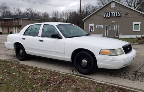 2001 Ford Crown Victoria for sale at Riverfront Auto Sales in Middletown OH