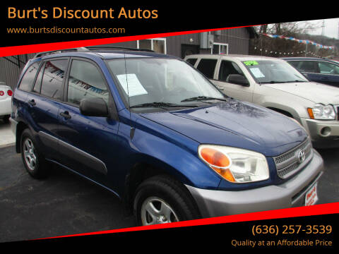 2004 Toyota RAV4 for sale at Burt's Discount Autos in Pacific MO