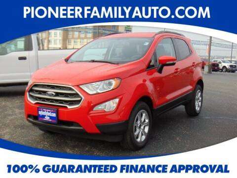 2020 Ford EcoSport for sale at Pioneer Family auto in Marietta OH