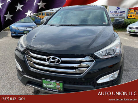 2013 Hyundai Santa Fe Sport for sale at Auto Union LLC in Virginia Beach VA