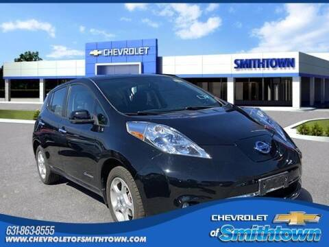 2013 Nissan LEAF for sale at CHEVROLET OF SMITHTOWN in Saint James NY