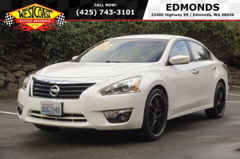 2014 Nissan Altima for sale at West Coast Auto Works in Edmonds WA