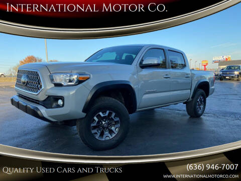 2019 Toyota Tacoma for sale at International Motor Co. in St. Charles MO