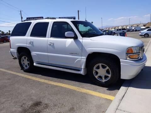 2003 GMC Yukon for sale at Car Spot in Las Vegas NV