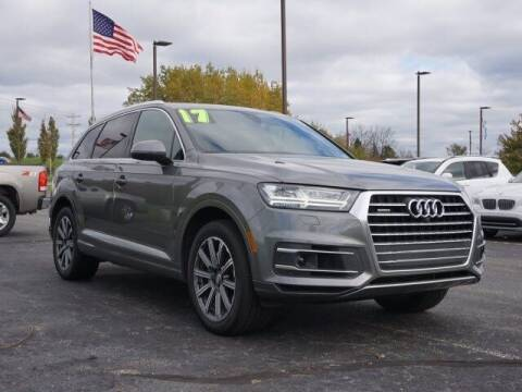 2017 Audi Q7 for sale at Szott Ford in Holly MI