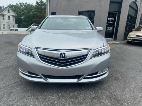 2014 Acura RLX for sale at H & H Motors 2 LLC in Baltimore MD