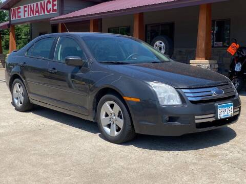2007 Ford Fusion for sale at Affordable Auto Sales in Cambridge MN