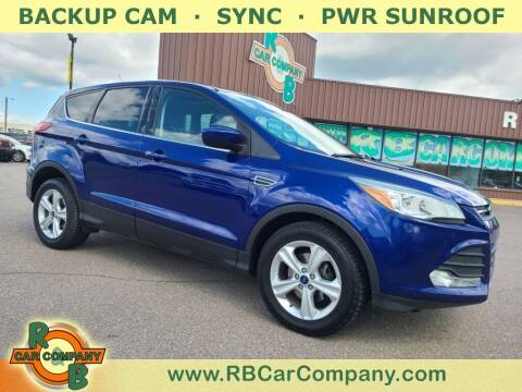 2015 Ford Escape for sale at R & B Car Co in Warsaw IN