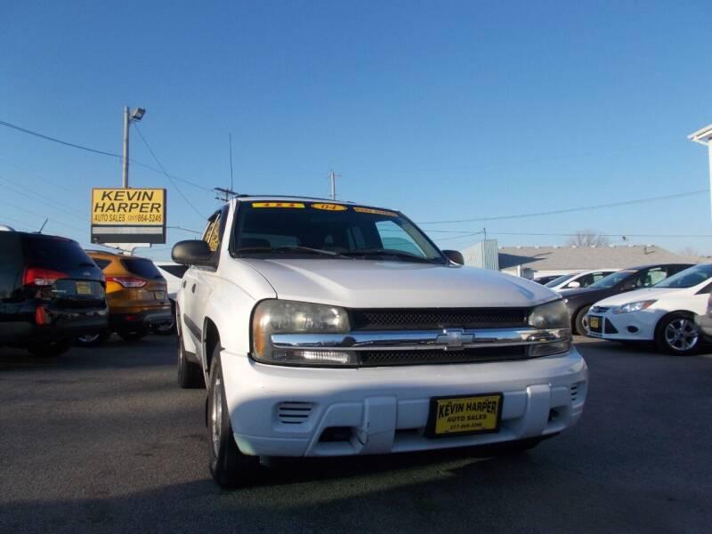 2004 Chevrolet TrailBlazer for sale at Kevin Harper Auto Sales in Mount Zion IL