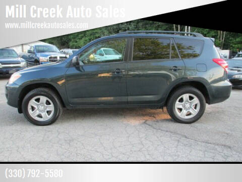 2012 Toyota RAV4 for sale at Mill Creek Auto Sales in Youngstown OH