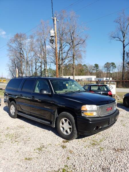 2006 GMC Yukon XL for sale at JM Car Connection in Wendell NC