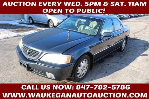 2004 Acura RL for sale at Waukegan Auto Auction in Waukegan IL