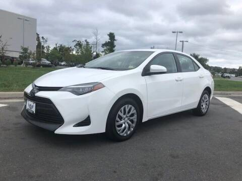 2018 Toyota Corolla for sale at Freedom Auto Sales in Chantilly VA