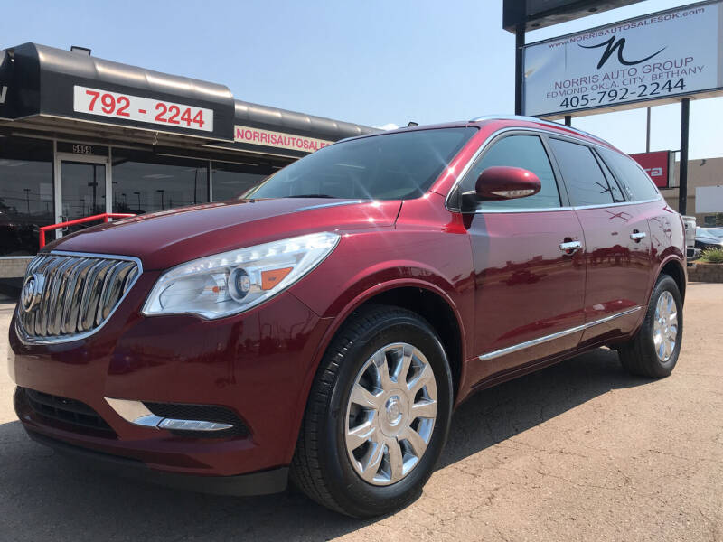 2016 Buick Enclave for sale at NORRIS AUTO SALES in Oklahoma City OK