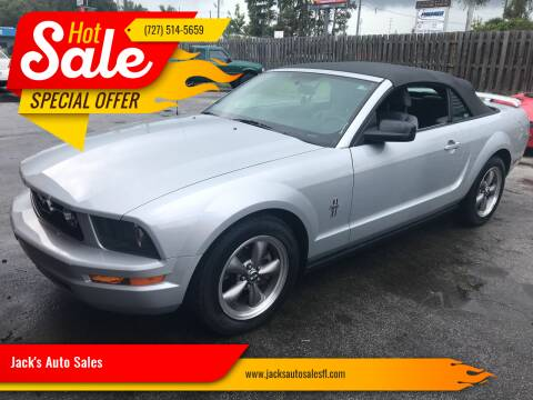 2006 Ford Mustang for sale at Jack's Auto Sales in Port Richey FL