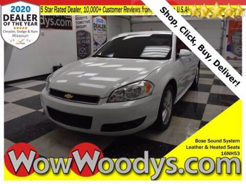 2016 Chevrolet Impala Limited for sale at WOODY'S AUTOMOTIVE GROUP in Chillicothe MO